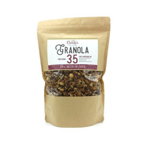 Camile's Granola - granola 35% zaden en noten 1000gr
