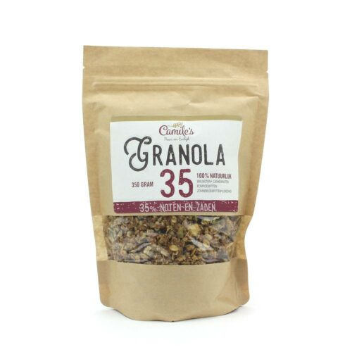 Camile's Granola - granola 35% zaden en noten 350gr