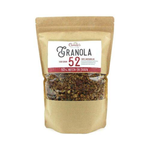 Camile's Granola granola 52% zaden en noten 1000gr