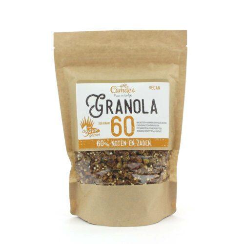 Camile's Granola granola 60% met agave 350gr