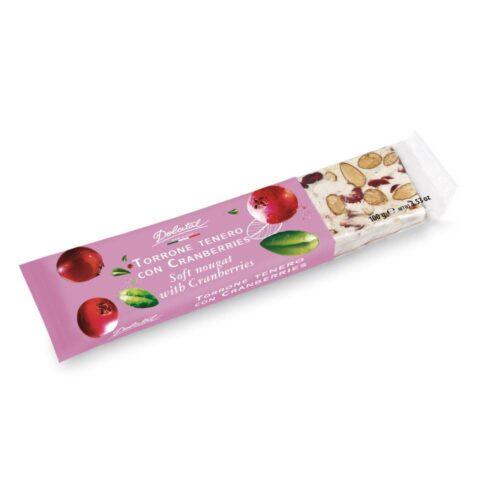 Dolcital - torrone cranberries 100gr