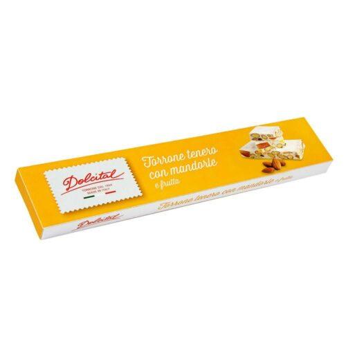 Dolcital - torrone mandorle frutta 150gr