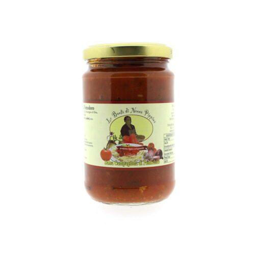 Le bontà di Nonna Pippina - sugo campagnola di pomodoro 300 gram