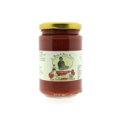 Le bontà di Nonna Pippina - sugo mediterranea piccante 300 gram