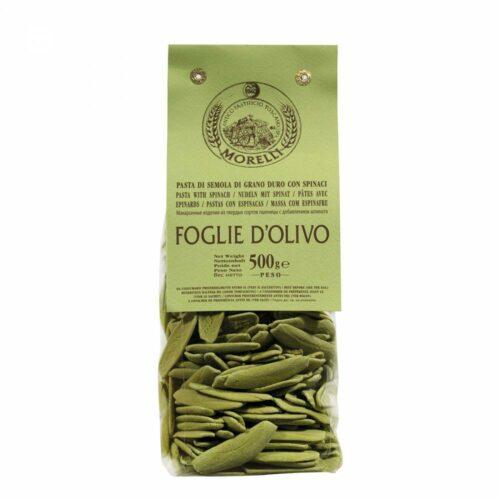 Morelli Pasta - foglie spinaci:ulivo 500 gram