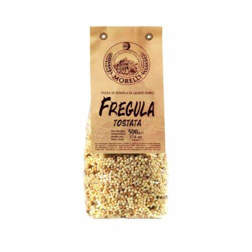 Morelli Pasta - fregula tostata 500 gram