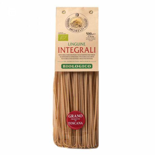 Morelli Pasta - linguine integrali volkoren bio 500 gram