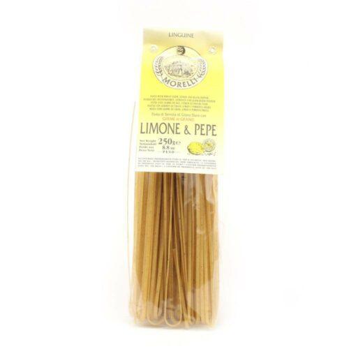 Morelli Pasta - linguine lemonpepper 250 gram