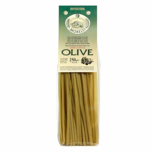 Morelli Pasta - linguine pasta olives 250 gram