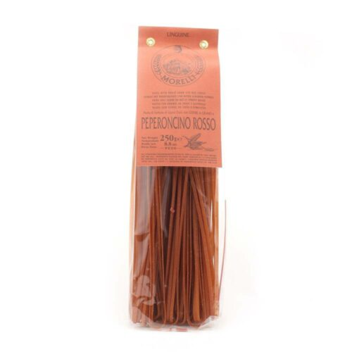 Morelli Pasta - linguine red chilli 250 gram