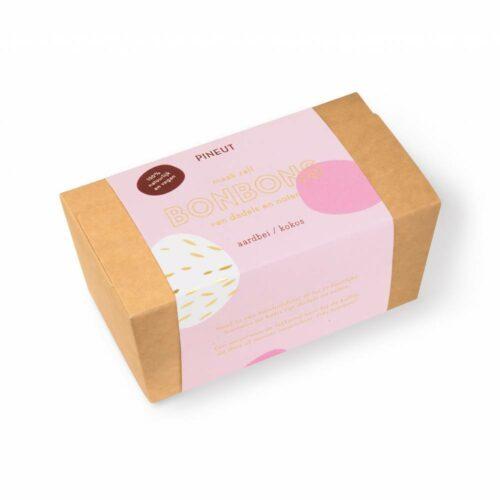 Pineut - bonbon aardbei kokos 120 gram
