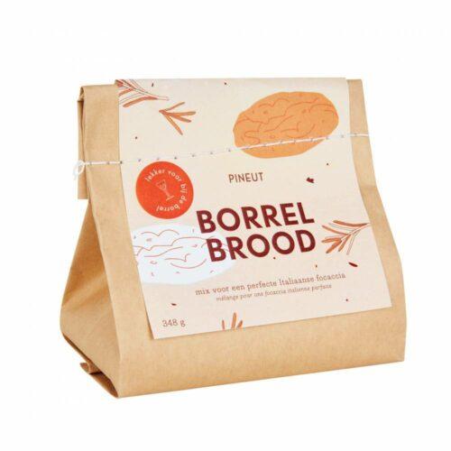 Pineut - borrelbrood focaccia 350 gram