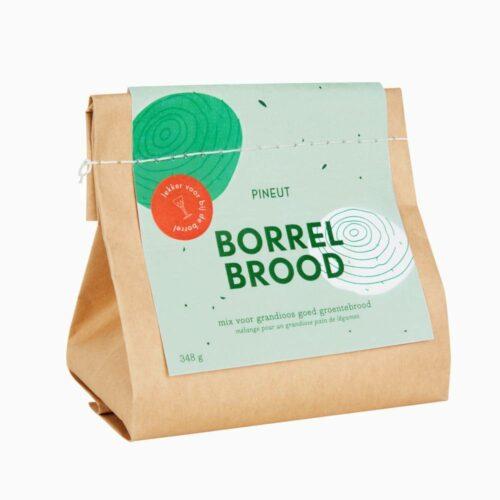 Pineut - borrelbrood groentebrood 350 gram