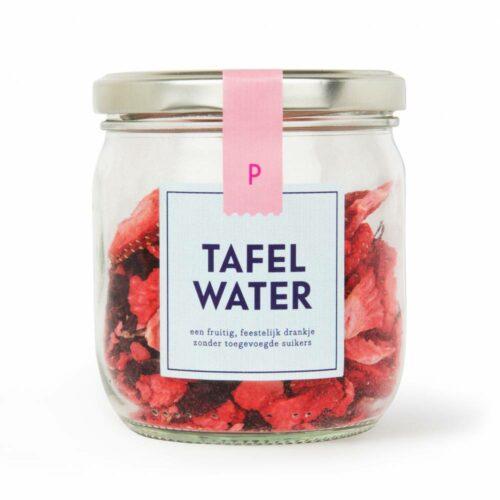 Pineut - tafelwater refill aardbei & hibiscus 25 gram