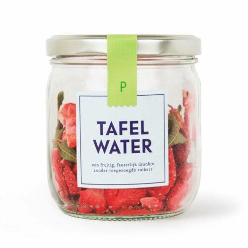 Pineut - tafelwater refill aardbei & verveine 22 gram