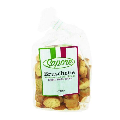 Sapore - bruschette olijfolie 150 gram