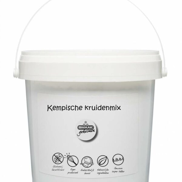 Smaakgeheimen - Kemp. kruidenmix grootverpakking 500gr
