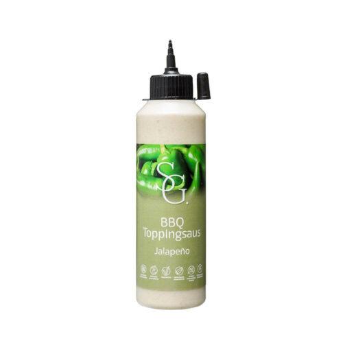 Smaakgeheimen - bbq topping jalapeño 250ml