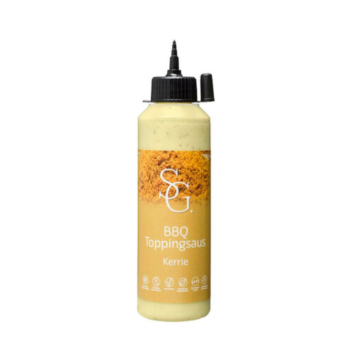 Smaakgeheimen - bbq topping kerrie 250ml