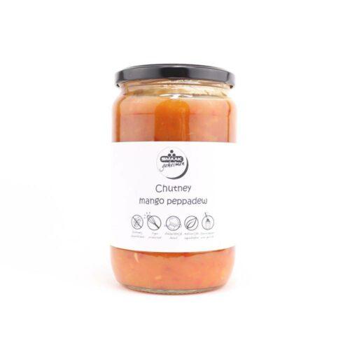 Smaakgeheimen - chutney mango peppedew grootverpakking 720ml