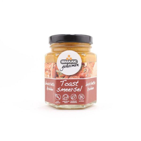 Smaakgeheimen - toast smeersel bruschetta 110ml
