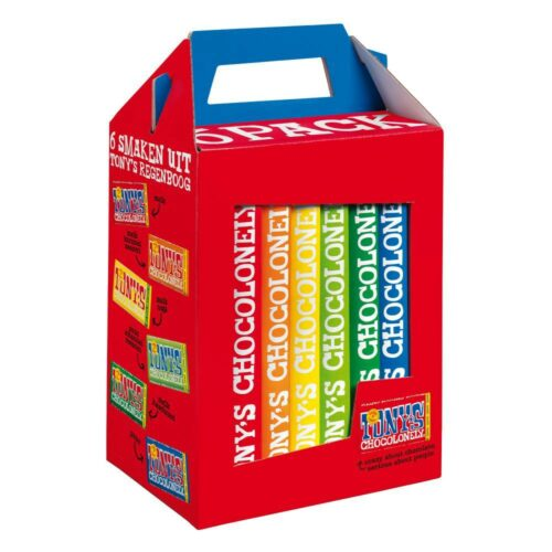 Tony's Chocolonely - 6-pack 3x180gr
