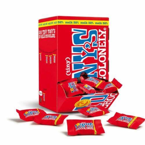 Tony's Chocolonely - Tiny Tony Melk OOH pack 900gr