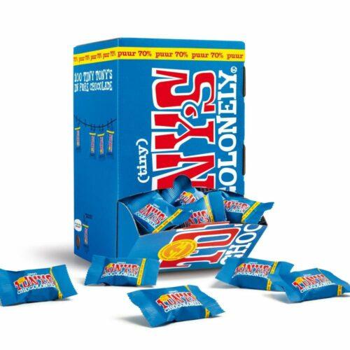 Tony's Chocolonely - Tiny Tony Puur OOH pack 900gr