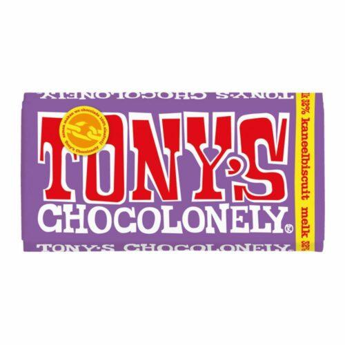 Tony's Chocolonely - melk kaneelbiscuit 180 gram