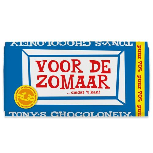 Tony's Chocolonely - puur zomaar 180gr