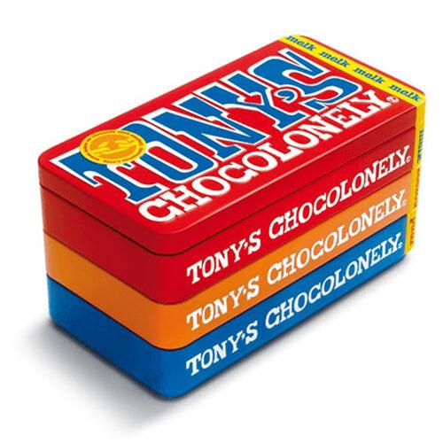 Tony's Chocolonely - stapelblik met 3 repen 1 stuk