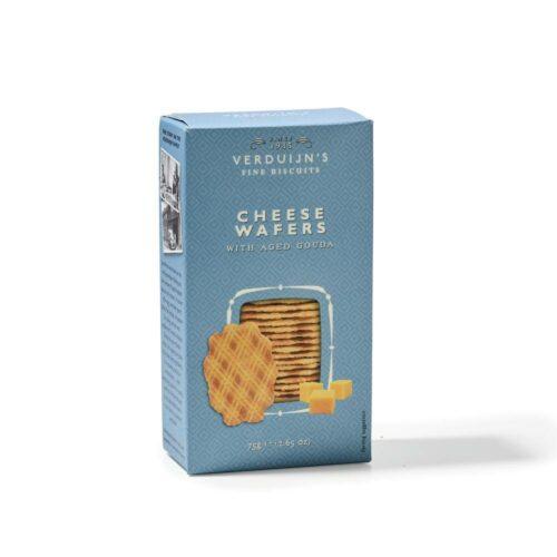 Verduijn's Fine Biscuits kaaswafels 75 gram