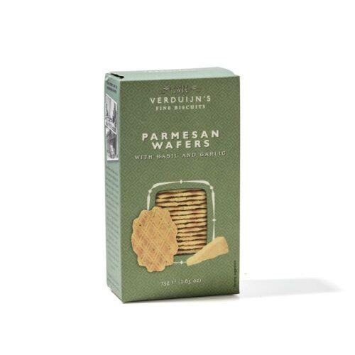 Verduijn's Fine Biscuits parmezaanwafels 75 gram