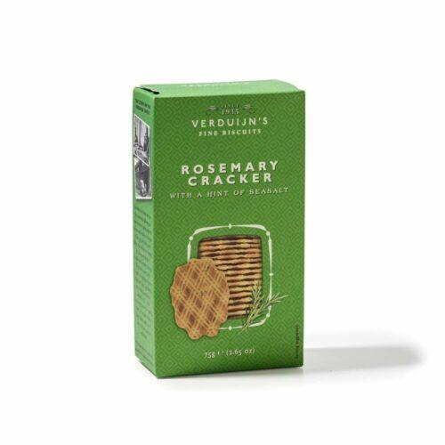 Verduijn's Fine Biscuits rozemarijncrackers 75 gram