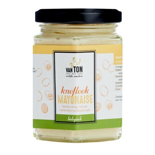 van TON - knoflook mayonaise 160gr