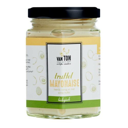 van TON - truffel mayonaise biologisch 160gr