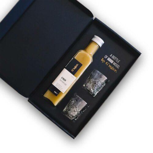 G'nger - giftbox gembersap bio 250ml